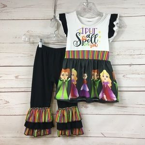 Halloween Adorable Hocus Pocus Inspired Outfit